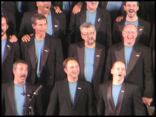 We Shall Overcome - in Moscow 1999 with the Gay Men's Chorus of Los Angeles