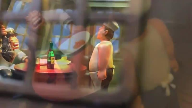 Макет Барракуды в масштабе 1 24 Конан мальчик из будущего