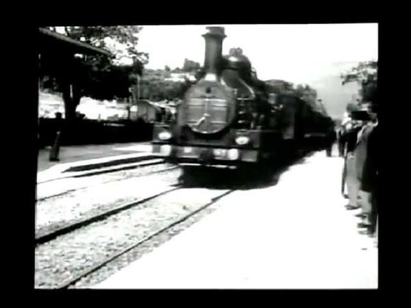 Arrival of a Train at La Ciotat 1896 LOUIS LUMIERE L'Arrivee d'un Train a La Ciotat