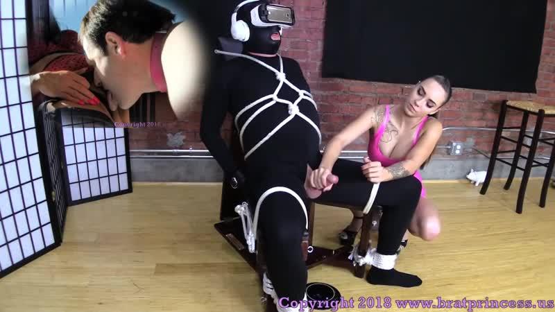 Watch Femdom Edging Hypno Training