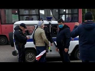 """В Новогрудке сейчас жёсткие задержания. Начальник милиции лично скомандовал: """"Берите всех"""""""