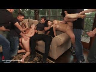 Vicky Vixen, Andrea Acosta Gangbang [BDSM, porno, Sex, kinky, hardcore, rough, бдсм, секс, порно, жестко]
