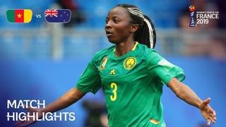 Cameroon v New Zealand | FIFA Women's World Cup France 2019 | Match Highlights