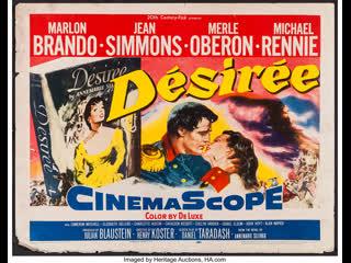 Desiree (1954)   Marlon Brando, Jean Simmons, Merle Oberon, Michael Rennie