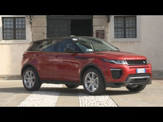 2016 Range Rover Evoque exterior design