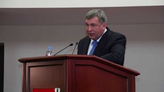 Напутственное слово Министра регионального развития РФ Игоря Слюняева...