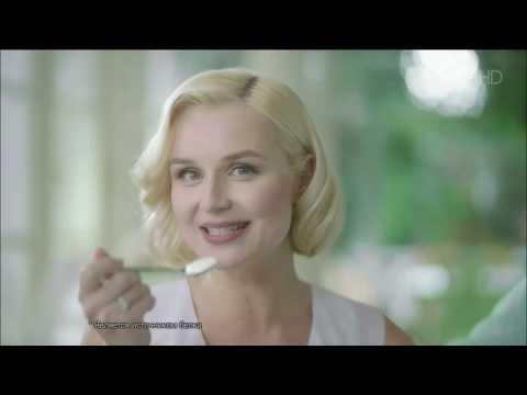 Реклама творог Данон - Полина Гагарина 2017