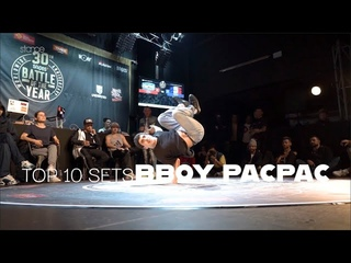 """Top 10 Set Of BBoy Pac Pac """"Represent France"""""""