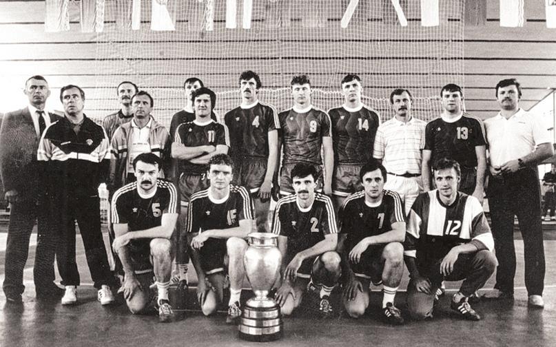 Минский СКА с Кубком чемпионов. 1990 год
