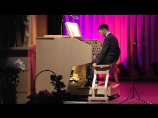 Джордж Талбен-Болл.Вариации на тему Н.Паганини для педали соло.Александр Новосёлов-орган.