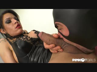 Dr Luna Marks Takes Care Of Her Slave With A Hard Cock - PinkoTGirls