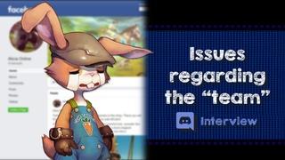 【Alicia Online】Issues regarding the team (Interview w/ Mia)