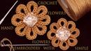 Cómo hacer Flores Fácil a Crochet y Flores fácil tejidas a la aguja tejido tallermanualperu