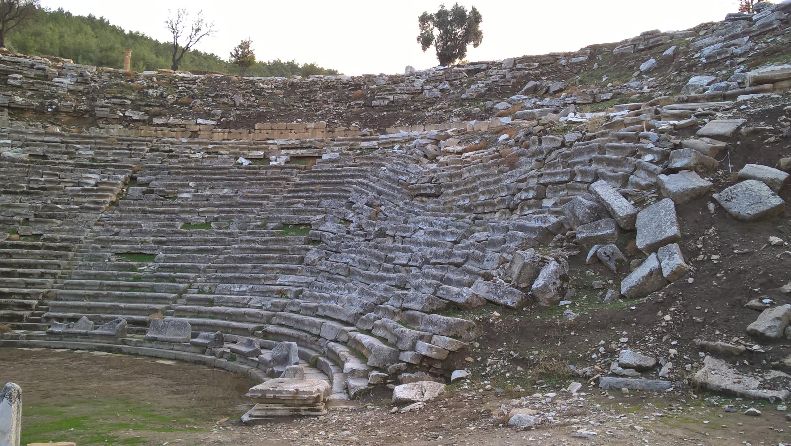 амфитеатр в Стратоникеа