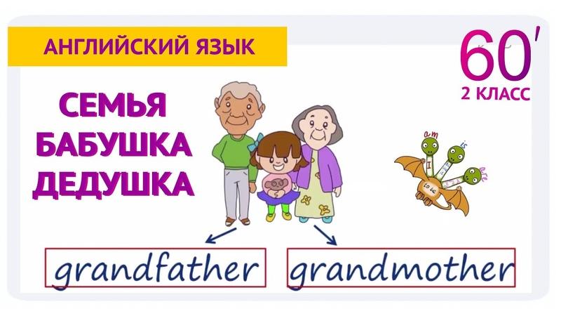 Семья английском языке. Урок английского языка, 2 класс Школа 60 минут