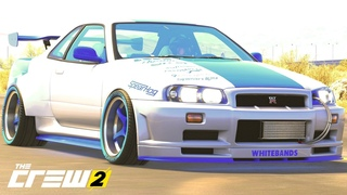 """THE CREW 2 """"GOLD EDiTiON"""" (TUNiNG) NISSAN SKYLINE GT-R R34 High Octane Edition PART 1475 ..."""