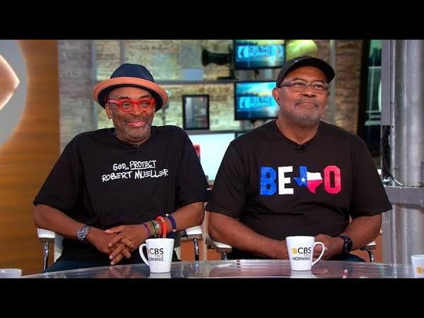 Spike Lee, real-life Ron Stallworth talk new film BlacKkKlansman