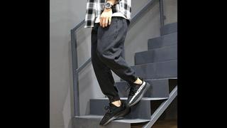 Модные уличные мужские джинсы свободного кроя 28 42, шаровары, дизайнерские брюки карго, японские винтажные хип хоп джоггеры,
