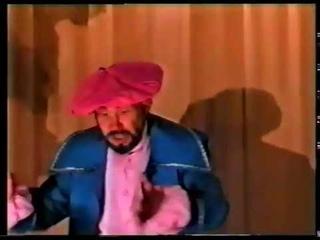 Спектакль Лекарь поневоле Народный театр Шанс село Первомайское 1999