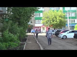 В Дюртюлях продолжается работа по реализации программы Башкирские дворики #ДюртюлиТВ