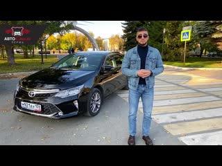 Видео-отчет о подборе автомобиля TOYOTA CAMRY55 2018г (2.5) АКПП