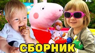 Бьянка и Карл - все серии. Свинка Пеппа и Маша Капуки. Мамина школа - видео для детей