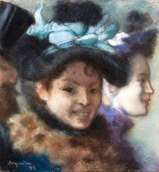 «Две женщины и мужчина», Луи Анкетен