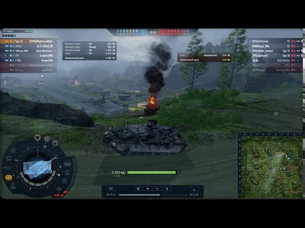 AW PVP, 7х7 Хороший бой на Type 10.