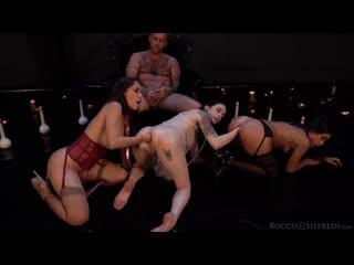 RoccoSiffredi - Fist, Holes & Sorcery / Anna De Ville, Malena, Martina Smeraldi