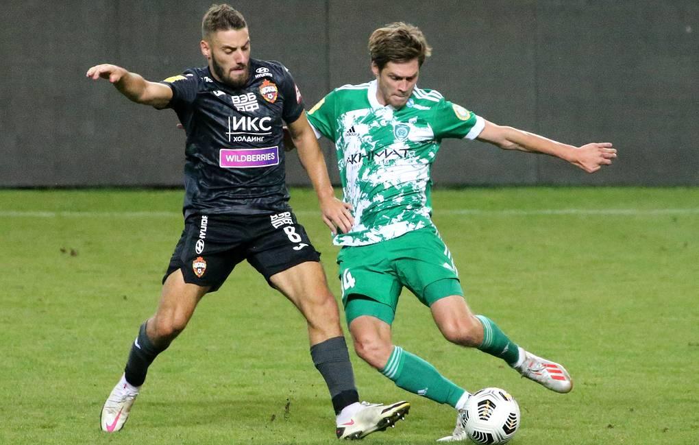 Ахмат - ЦСКА, 0:3