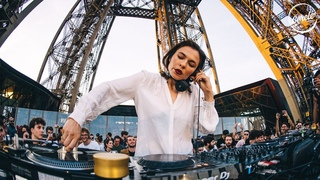 Nina Kraviz  Tour Eiffel in Paris, France for Cercle