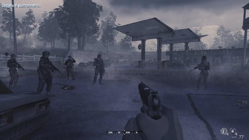 Прохождение Call of Duty 4 Modern Warfare Часть 13 Грехи отцов