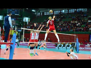 Malwina smarzek made 41 points in one match. best volleyball actions (hd)