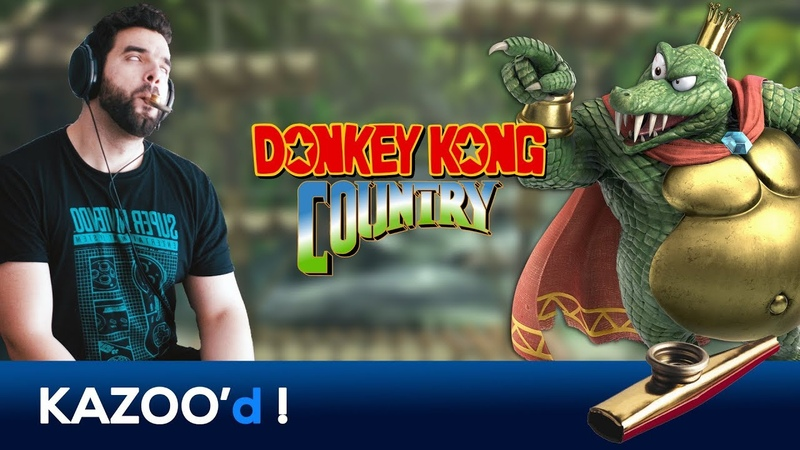 GANGPLANK GALLEON (King K. Rool Theme) - Donkey Kong Country... KAZOO'd!