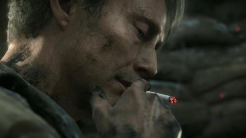 Mads Mikkelsen's Smoking is SO EPIC