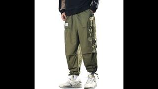 Dossan мужские брюки для бега лето 2021 мужские с большими карманами ankel cargo брюки мужские весенние уличные комбинезоны
