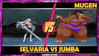 Selvaria Vs Jumba Elephant [Hard Fight] MUGEN CHAR