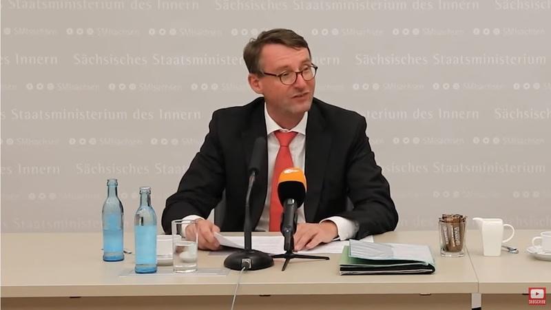 Sachsen Verfassungsschutz Chef abgesetzt illegal Material über AfD Abgeordnete gesammelt