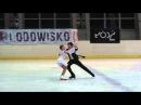 2 Zlata Jefymenko Vadim Kolesnik Waltz Europejski Zlota Puchar Lodzi 2014