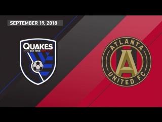 Highlights_ san jose earthquakes vs. atlanta united fc _ september 19, 2018