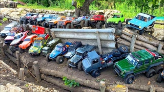 RC Cars and RC Trucks Test the World's Largest OFF Road Track