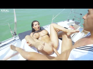 Nelly Kent - Sex Goddess Nelly Kent Hot Anal Action With Mugur At The Boat [All Sex, Hardcore, Blowjob, Gonzo]