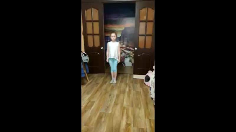Домашние тренировки каратистов Легат Елизавета Харитонова