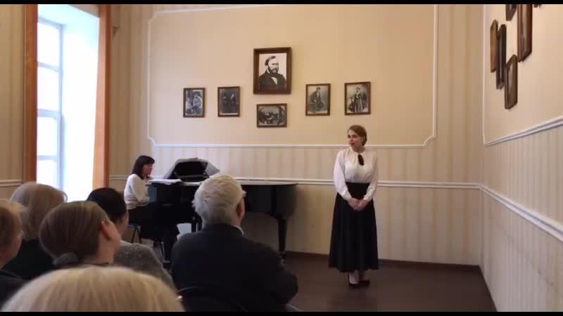 Государственный экзамен по вокалу Песня Элизы из Пигмалиона Подожди Генри Хиггинс
