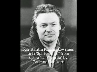 Konstantin Pluzhnikov - Spirto gentil ( La Favorita - Gaetano Donizetti )