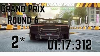 Asphalt 9   Grand Prix Lamborghini SC18 (2*)   Round 6   01:17:312
