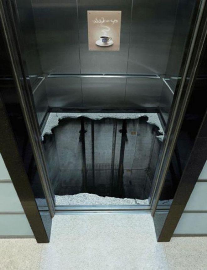 Креативные лифты, которые потрясут ваше воображение