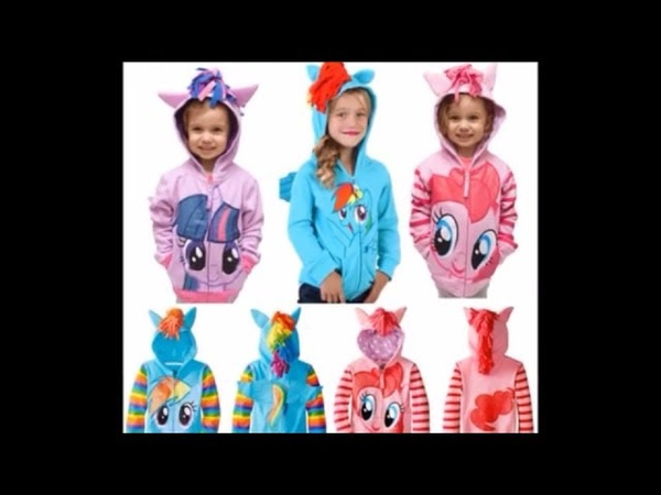 My Little Pony Girls' Twilight Sparkle Hoodie Outerwear 📷Video Product