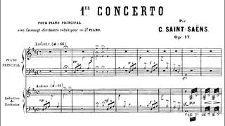 Camille Saint-Saëns - Piano Concerto No. 1, Op. 17 (1858) {Pascal Rogé}