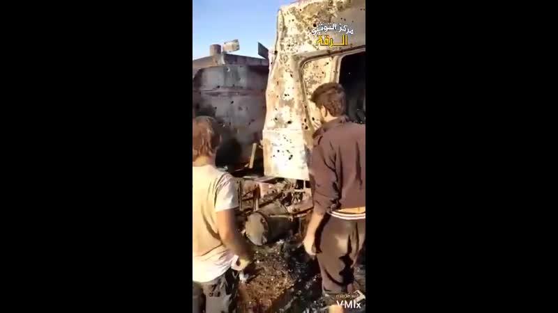 Место под Джараблусом куда в ночь с 23 на 24 октября 2020 был нанесен удар в котором никто так и не признался
